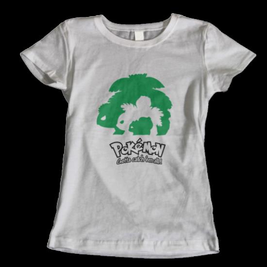 Тениска с щампа BULBASAUR EVOLUTION POKEMON