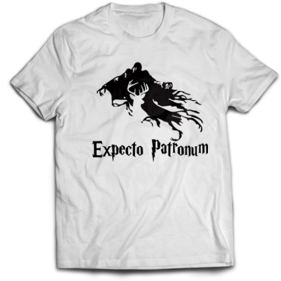 Тениска с щампа EXPECTO PATRONUM