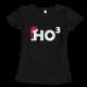 Тениска с щампа HO HO HO